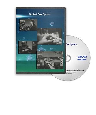 Suited For Space - The Early History of the NASA Space Suit DVD - C7