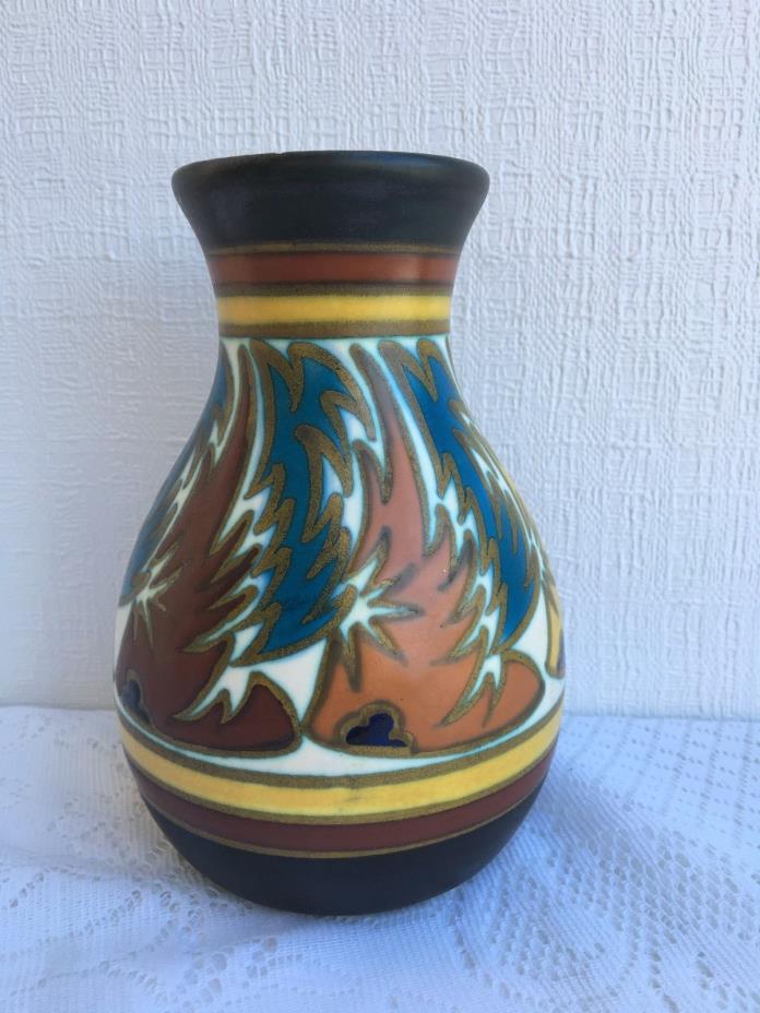 Vintage Gouda Vase Made in Holland '1209 Digentia' (97)