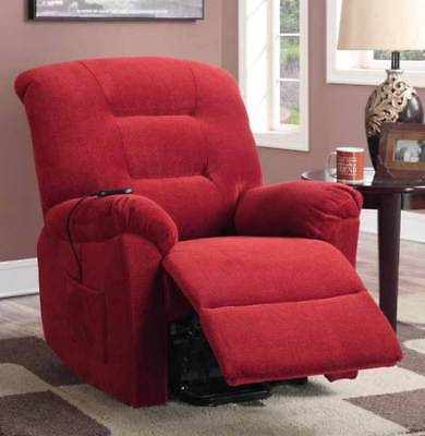Power Lift Recliner in Brick Red [ID 3368767]