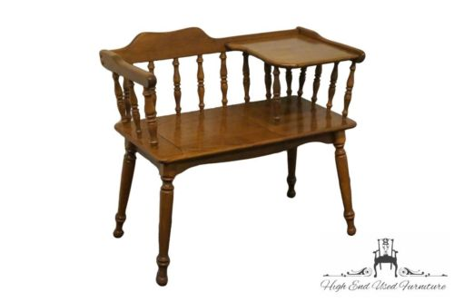 ETHAN ALLEN Heirloom Nutmeg Maple 33