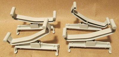 4 AFX SLOT CAR TRACK RISERS