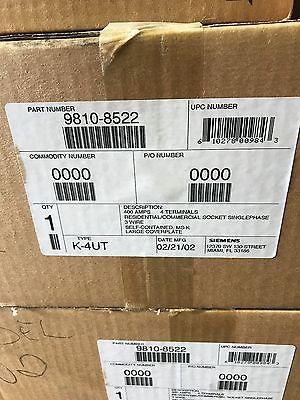 LANDIS & GYR 9810-8522 400 AMP SINGLE PHASE METER SOCKET
