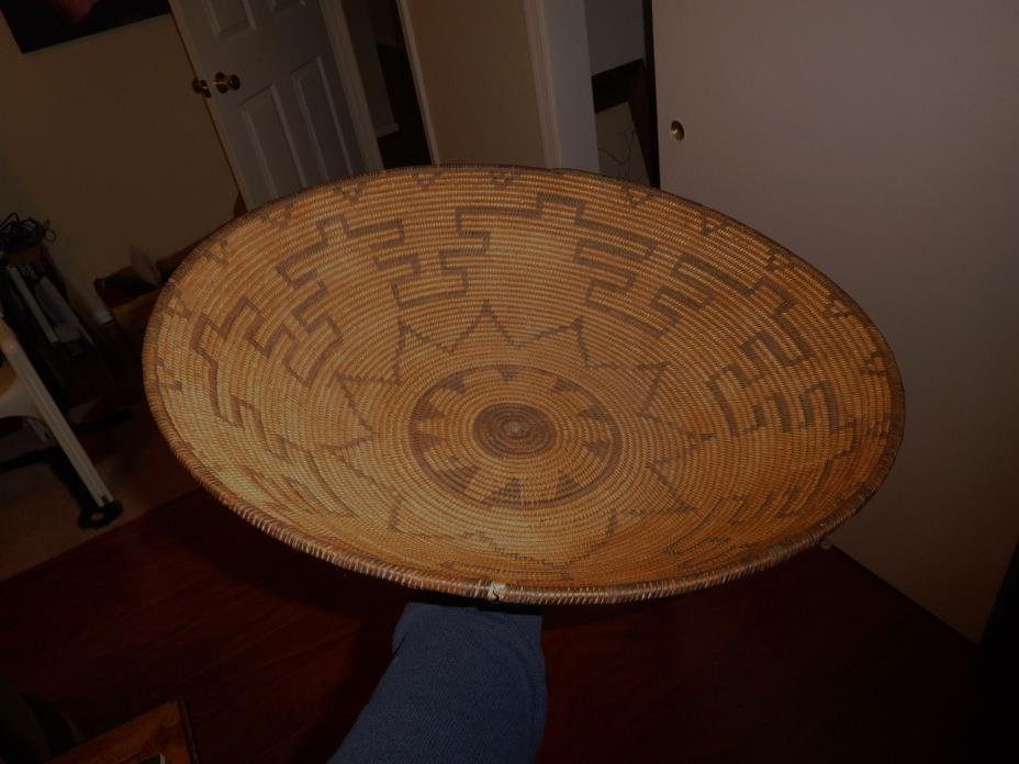 Antique Apache Basket American Indian Native Piece