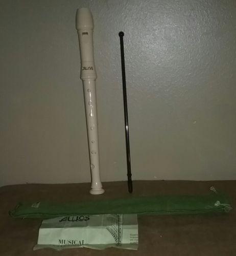 Aulos 105 E Recorder Flute Japan