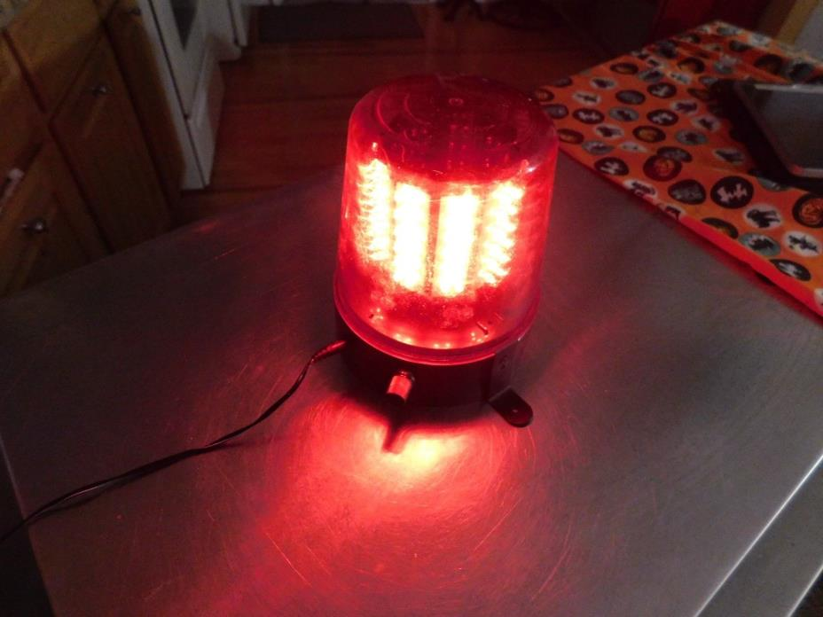 Flashing red party light led multi speed