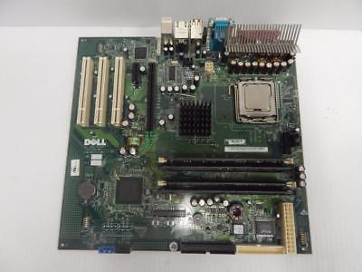 Dell Motherboard CN-0G5611 GX280 Includes Intel Core DUO 2 2.8GHz CPU & RAM
