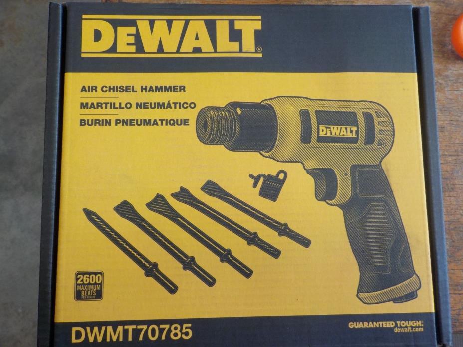 DEWALT DWMT70785 Air Chisel Hammer New