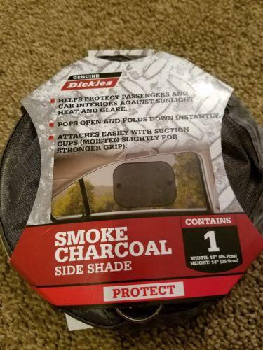 Pop Open Window Side Shade Smoke Charcoal Genuine Dickies 806022