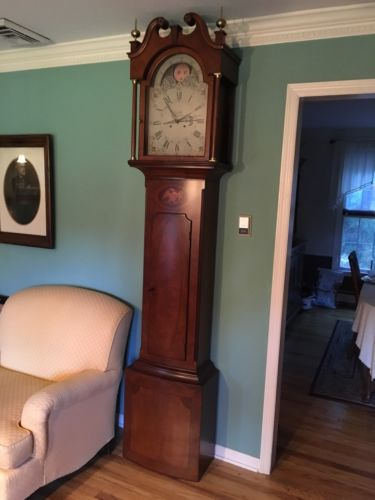 GRANDFATHER CLOCK - Colonial of Zeeland The Jacob Eby Tall Case Clock 105 of 300