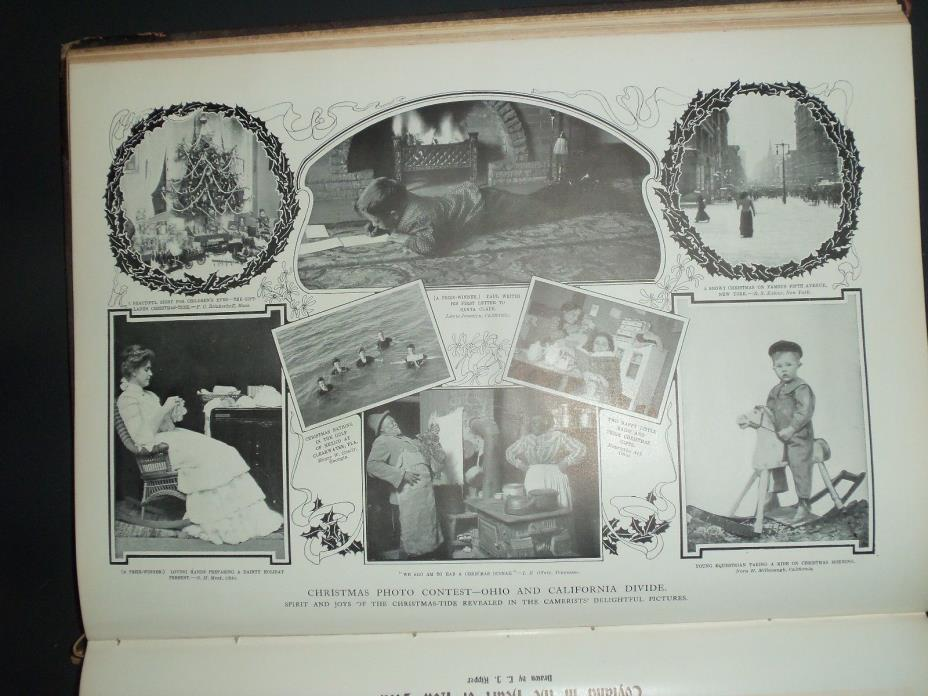 1903 LW African American Christmas Dinner Offutt Tennessee Millspaugh California