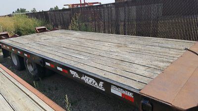 2005 Towmaster T20 Equipment Trailer Flatbed Trailers