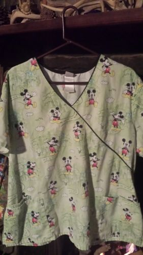 Lot Of 2 Size 2X Scrub Tops And 1 XL Bottom, Great Condition