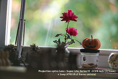Projection optics Lens, Super Lite, Series III 6 3/4 inch -172mm visionar,meopta