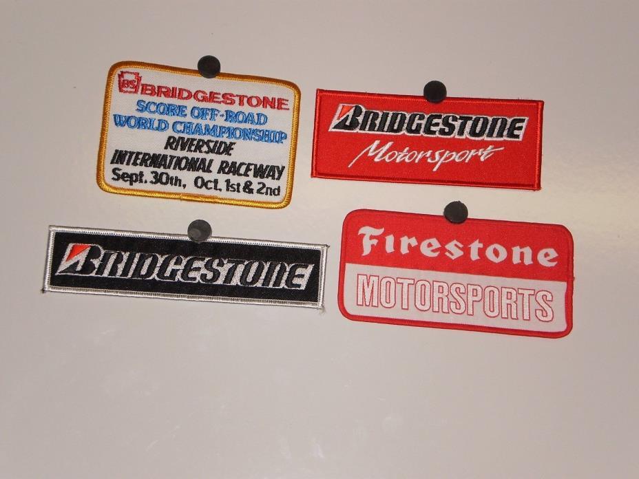 4 Bridgestone Tire  Patches