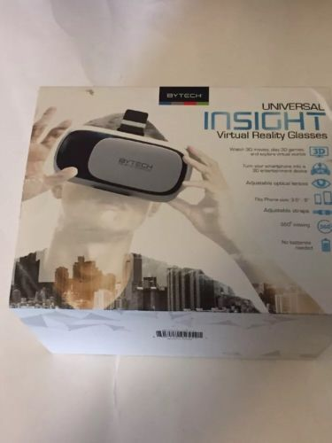 Bytech Universal Insight Virtual Reality Glasses For Smartphones FREE SHIPPING