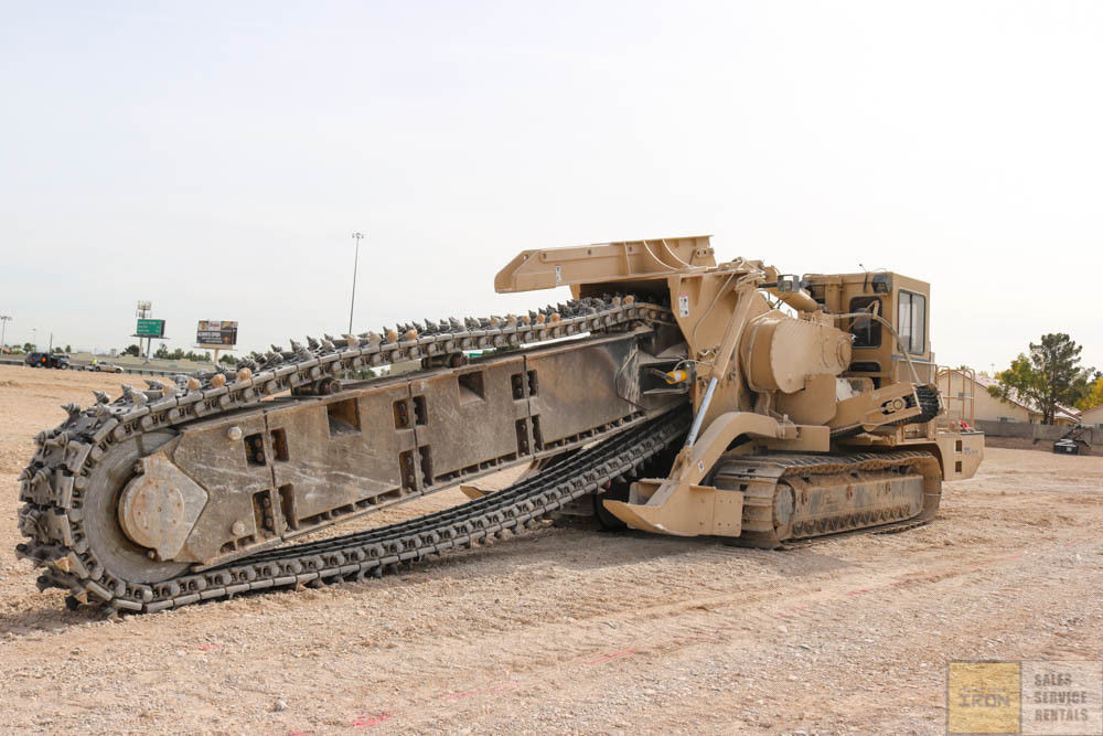 2015 TESMEC M5 CRAWLER CHAIN TRENCHER CAT C13 440HP ENGINE LOW HOURS