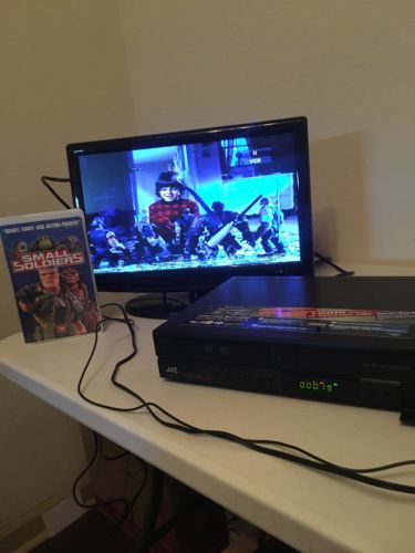 JVC DR-MV78 DVD/VHS RECORDER HDMI FREE SHIPPING vhs not included