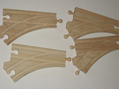 Thomas Train Wooden Switch Track 2 pair