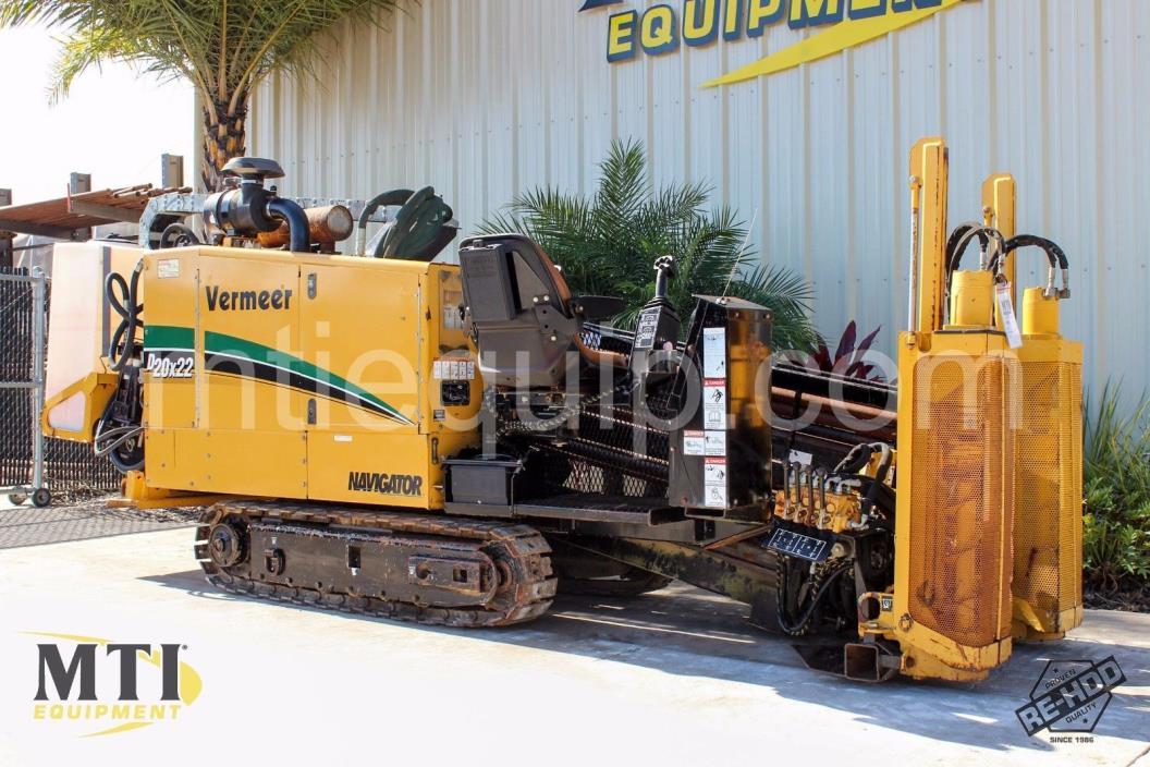2007 Vermeer D20x22 Horizontal Directional Drill - MTI Equipment