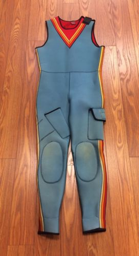 Fathom Diving Wetsuit Blue Scuba Wet Suit Blue Pants