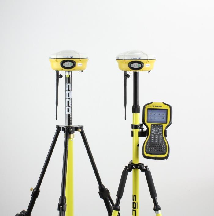 Trimble Dual SPS882 Base/Rover GPS GNSS Receiver Kit w/ TSC3 SCS900 Survey