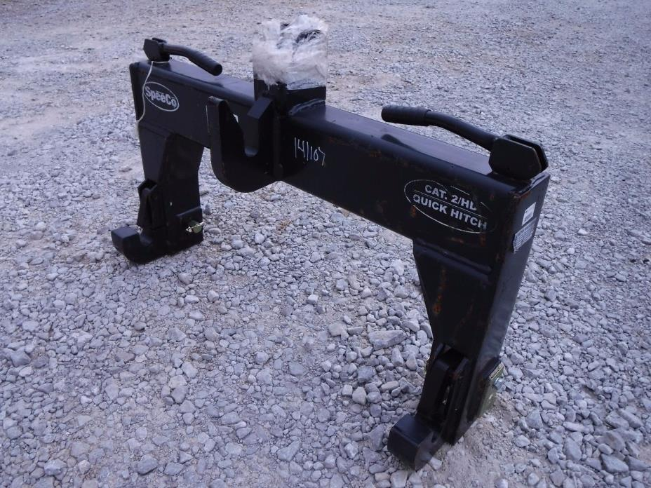Speeco Category 2 HD Quick Hitch 3 Point Hitch Tractor Attachment - Ship $149