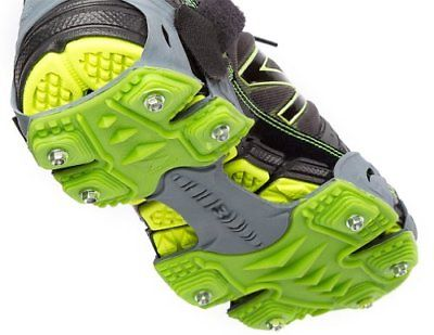 STABILicers Stabilicers Sport Runners Ice Cleats,Grey,S (6-8 Mens / 7.5-9.5 W...