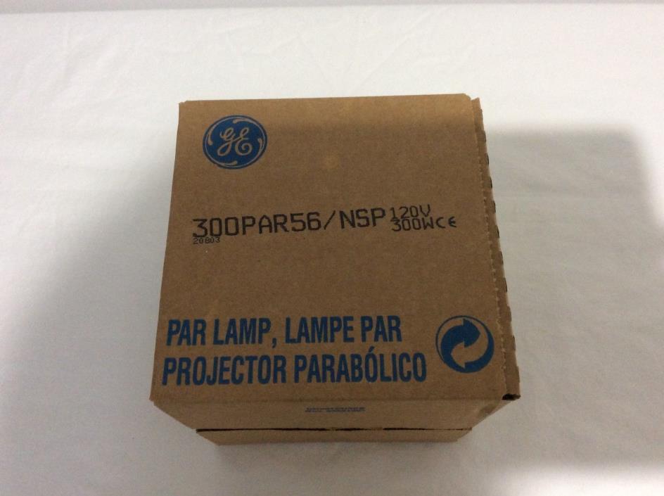 PAR 56 GE LAMP. NEW IN BOX
