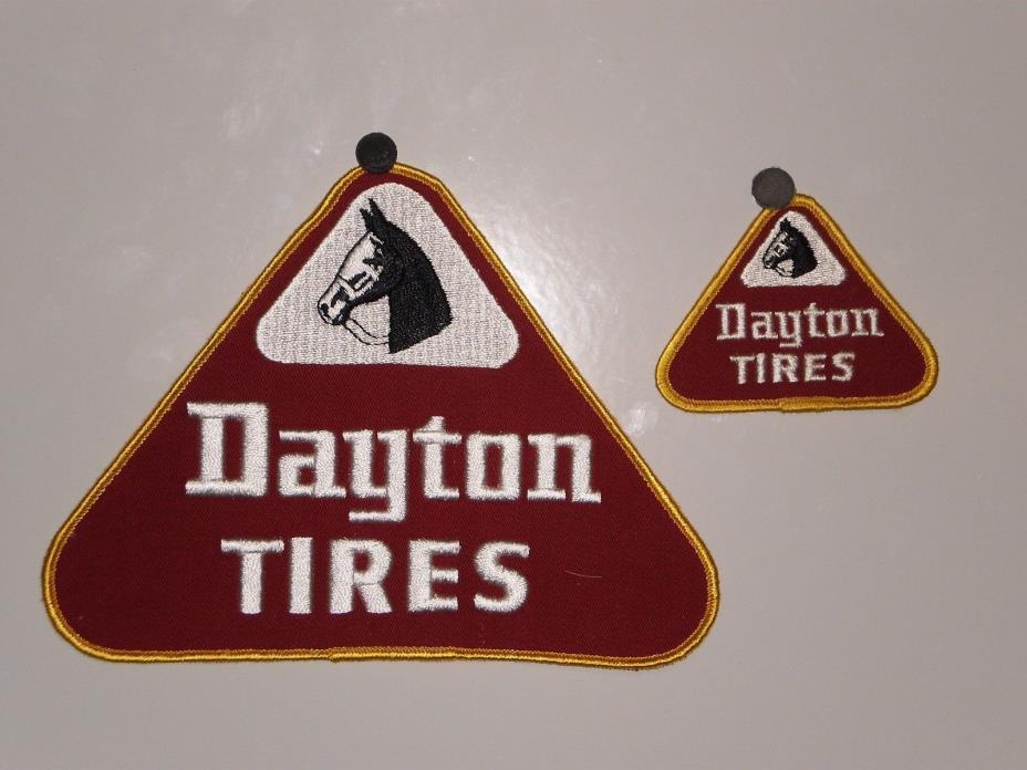 2 Vintage Dayton Tire Patches NOS