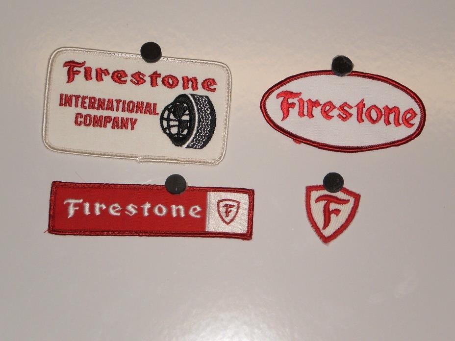 4 Vintage Firestone Tire Patches NOS