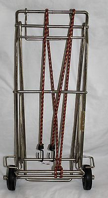 VTG MOFFAT HEAVY METAL SMALL FOLDING LUGGAGE GROCERY DOLLY TROLLEY CARRIER CART