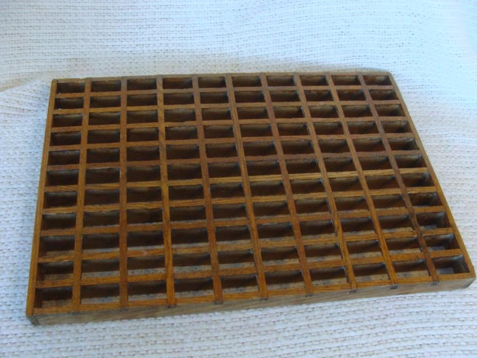 Antique Oak Wood Floor Grate Air Vent Architectural Restoration 14