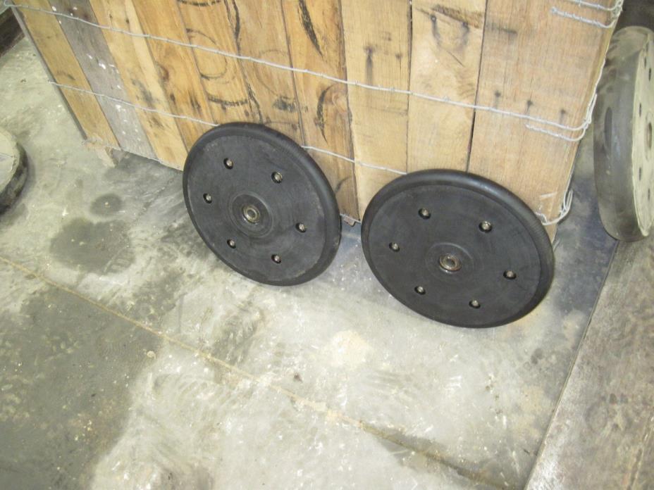 White Press Wheels
