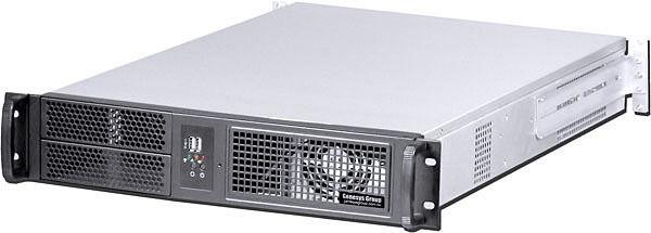 2U Rackmount Chassis (EATX/ ITX) (2x5.25