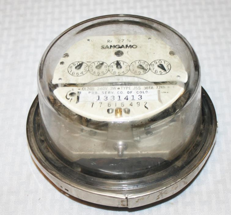 Hour Meter Made In Usa : Vintage voltage meter for sale classifieds