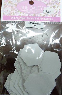Sue Daley English Paper Pieces 3/4