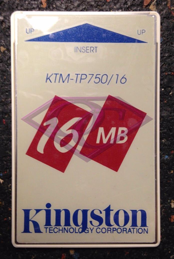 IBM 16MB PC Bus 5V DRAM Card Thinkpad, KTM-TP750/16 USED