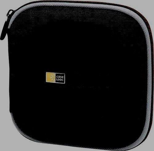 Case Logic - 24 Disc CD Holder (Black) - Pre-Owned