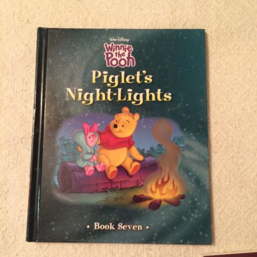 Disney Press 2009 Winnie The Pooh Piglet's Night-Lights  Book Seven