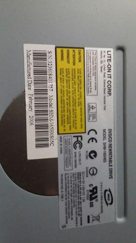 Lite-On It HD Case w/FAN REWRITABLE LIGHTSCRIBE DRIVE SHM-165H6S05C  NEVER USED