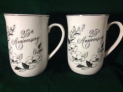25th Anniversary Porcelain Mugs-George Good Co.