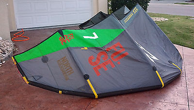 North Fuse 2013 Kiteboarding Kite - 7M - Used 1x