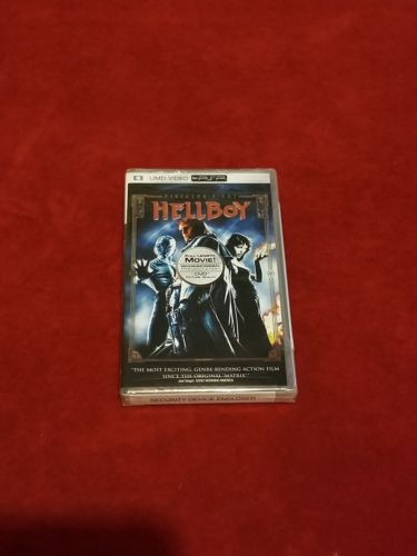 Hellboy for PSP (UMD, 2005, Universal Media Disc Directors Cut) FREE SHIPPING
