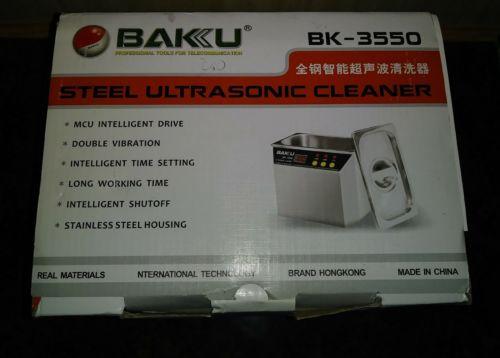 New Stainless Steel Ultrasonic cleaner BAKU BK-3550 for communications equipment