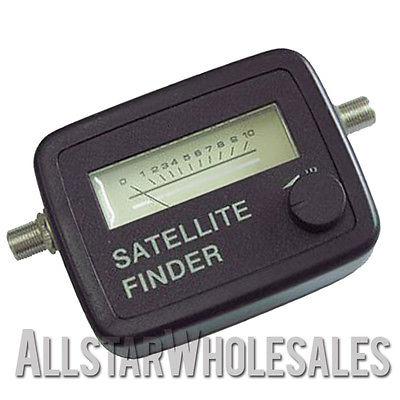 Satellite Finder Analog SF-95 950-2150 Mhz FTA Dish Signal Meter Sat Finders