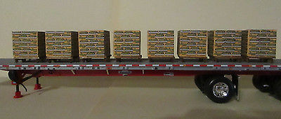 1/64  or S scale load or dock details 8 pcs set  QUIK
