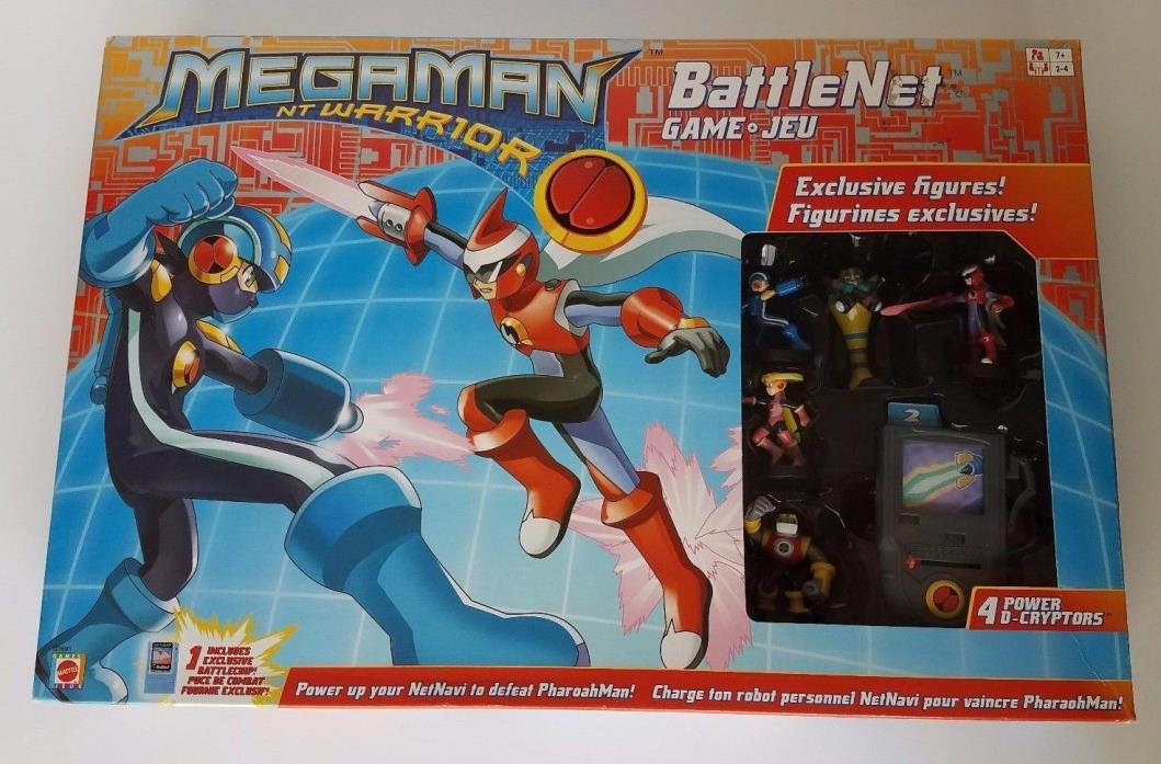 MegaMan NT Warrior Battle Net Game JEU COMPLETE
