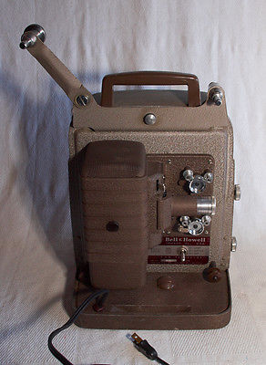 VINTAGE BELL & HOWELL 253A 8MM FILM MOVIE PROJECTOR