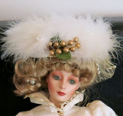 Franklin Mint by Gibson Girl Heirloom Doll Kristina 21