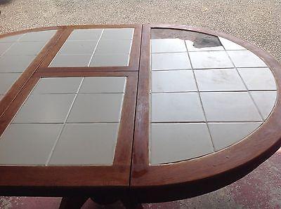 Vintage maple table